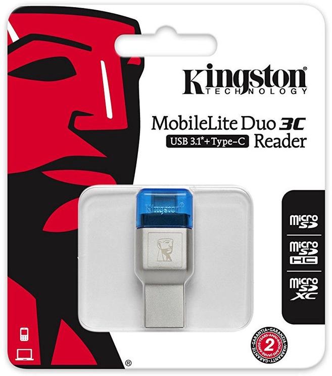 Kingston MobileLite DUO 3C USB3.1+Type C microSDHC/SDXC FCR-ML3C