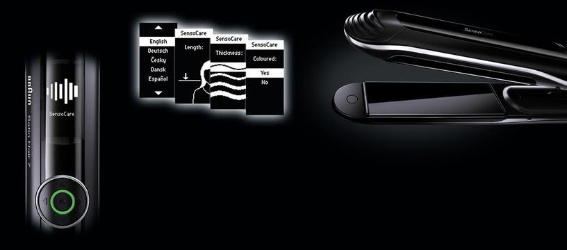 Plaukų tiesintuvas Braun Satin-Hair 7 SensoCare ST 780