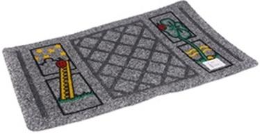 Durvju paklājs Verners Smart 811-000 Gray, 700x400 mm