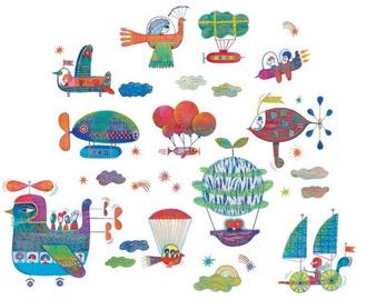 Djeco Sky Traffic Window Stickers DD05053