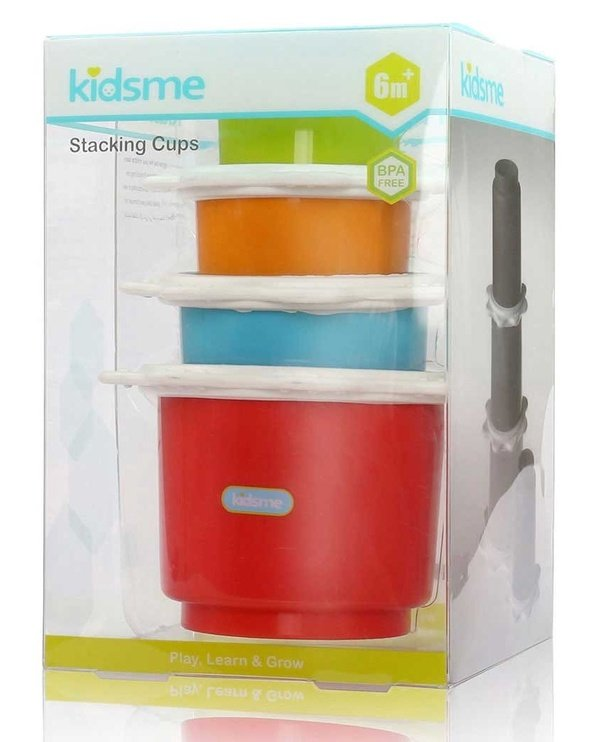 Kidsme Stacking Cups 4pcs 9445