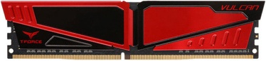 Team Group T-Force Vulcan Red 16GB 2400MHz CL15 DDR4 TLRED416G2400HC15B01