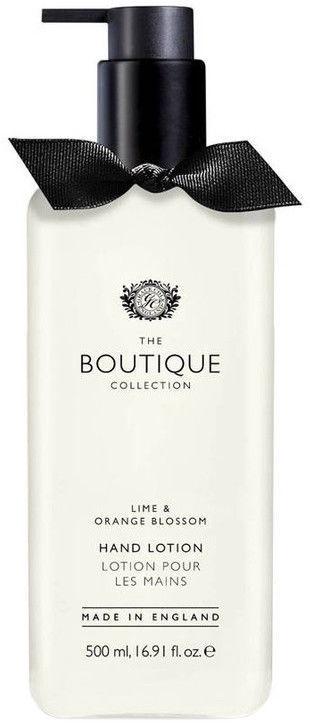 The English Bathing Company Boutique Hand Lotion 500ml Lime & Orange Blossom