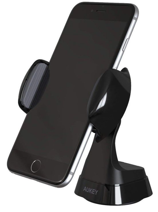 Aukey Windshield Dashboard 360 Degree Rotating Car Mount Black