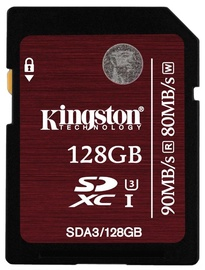 Kingston 128GB SDXC UHS-I U3