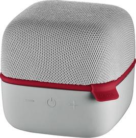Hama Cube Bluetooth Speaker Grey/Red