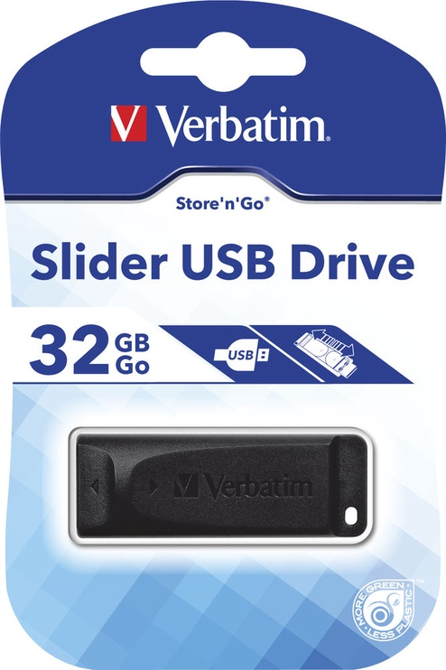 Verbatim Slider 32GB Black