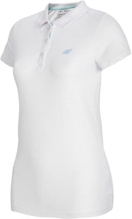 Рубашка поло 4F Women's T-shirt Polo NOSH4-TSD007-10S M