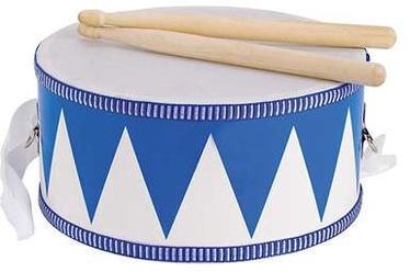 Goki Drum Blue/White 61898