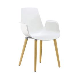 Valgomojo kėdė PP-658C, balta