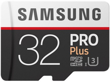 Samsung Pro Plus 32GB UHS-I Class 10 + Adapter