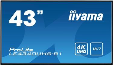 "Monitorius Iiyama Prolite LE4340UHS-B1, 42.5"", 8.5 ms"