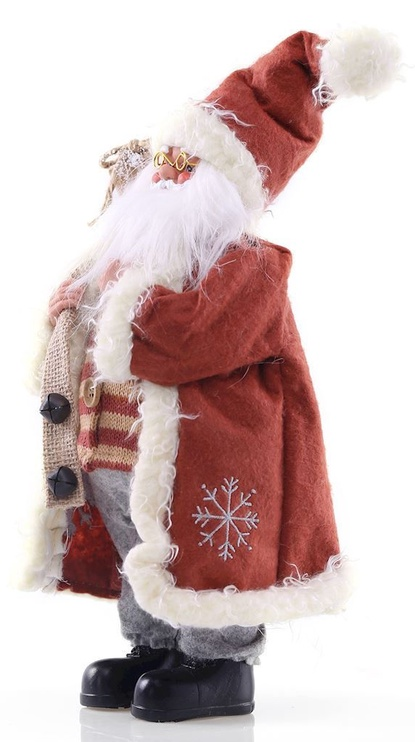DecoKing Christmas Decoration Santa Claus Red 46 cm