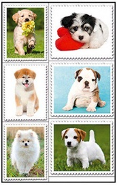 Herlitz Stickers Puppies