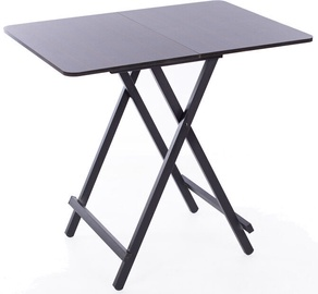 Pusdienu galds Happygame GUA-1, melna, 600x800x750mm