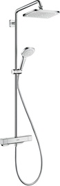 Hansgrohe Croma E 280 Shower System w/ Thermostat Chrome