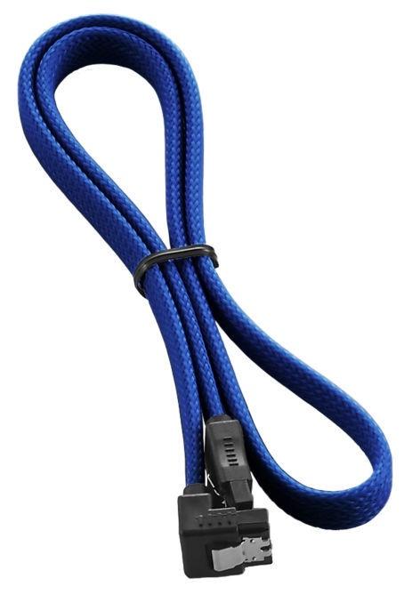 Juhe CableMod ModMesh Right Angle SATA 3 Cable 60cm Blue