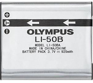 Olympus LI-50B Lithium-Ion Battery 925mAh
