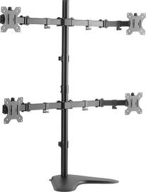 Televizoriaus laikiklis LogiLink Quad Monitor Desk Stand BP0046