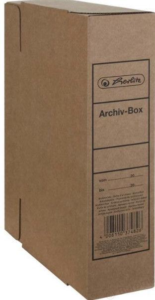 Herlitz Archive Box A4 Brown