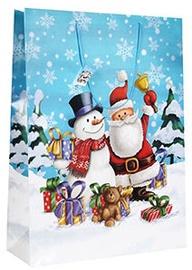 Verners Gift Bag Santa & Snowman 389350