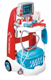 Rotaļlietu ārsta komplekts Smoby Electronic Medical Trolley 7600340202