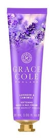 Grace Cole Hand & Nail Cream 30ml Lavender & Camomile