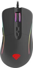 Žaidimų pelė Genesis Xenon 750 Black, laidinė, optinė