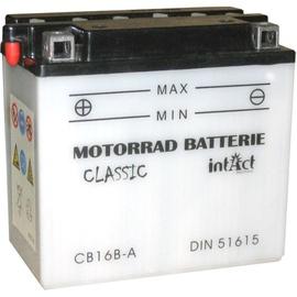 Аккумулятор IntAct CB16B-A, 12 В, 16 Ач, 160 а