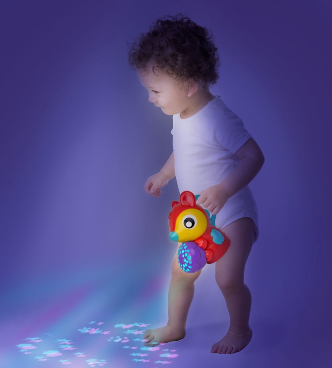Playgro Music and Lights Projector Gym Woodlands 0186993