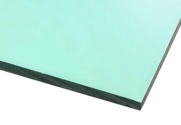 Ohne Hersteller Acrylic Glass GS Transparent Light Green 400x400mm