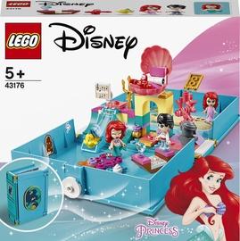 Конструктор LEGO® Disney Princess Книга сказочных приключений Ариэль 43176, 105 шт.