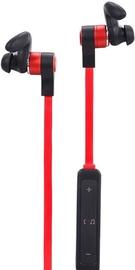 Ausinės ForMe FE-113 Bluetooth Earphones Black/Red