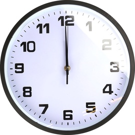 Diana Wall Clock White/Black 30cm