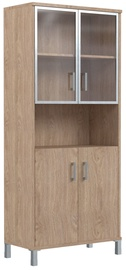 Skyland Born Office Cabinet B 430.9 Devon Oak