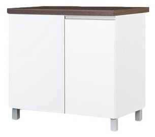 Alumine köögikapp Bodzio Sandi Corner Left 90x86x52cm Polished White