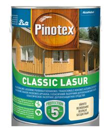 Impregnantas Pinotex Classic Lasur AE, bespalvis, 1 l