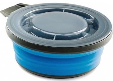 Transformējamais trauks GSI Outdoors Escape Collapsible Bowl & Lid Blue 651ml