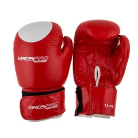 VirosPro Sports Boxing Gloves 12OZ Red SG-1001A