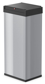 Hailo Big-Box Swing Waste Bin 52l Silver
