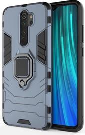 Hurtel Ring Armor Back Case For Xiaomi Redmi Note 8 Pro Blue
