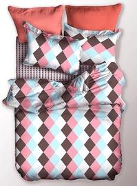 Gultas veļas komplekts DecoKing Basic, daudzkrāsains, 200x220/80x80 cm