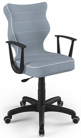 Vaikiška kėdė Entelo Norm Size 6 JS06 Black/Blue, 425x400x1045 mm