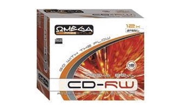 Kompaktinis diskas CD-RW Omega Freestyle, 700 MB