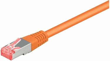 Goobay Patch Cable CAT6 S/FTP Orange 50m