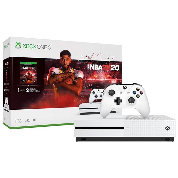 Konsolė žaidimų Xbox One S + NBA 2K20