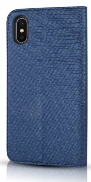 Mocco Jeans Book Case For Huawei Y6/Y6 Prime 2018 Blue