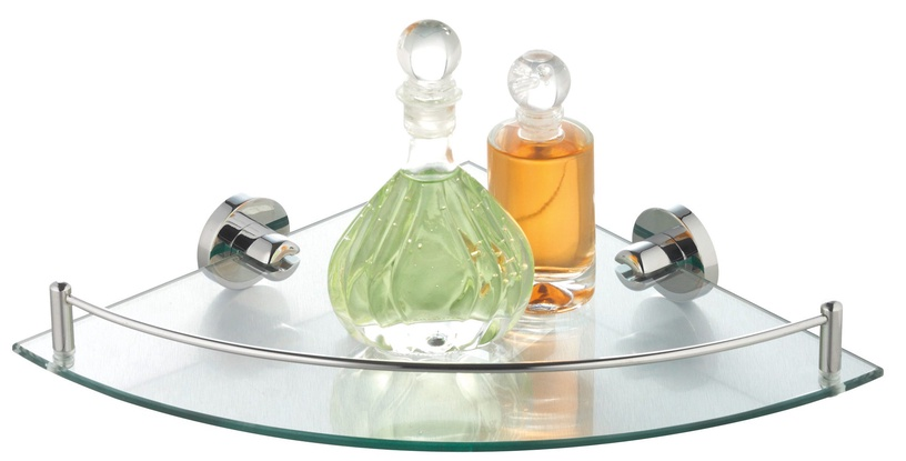Axentia Glass Corner Shelf
