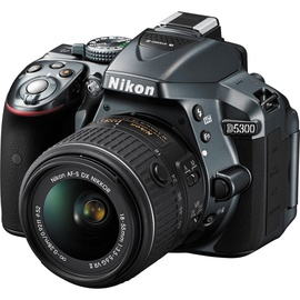 Nikon D5300 DSLR Camera + 18-55 mm Lens Gray