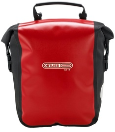 Ortlieb Front Roller City Red